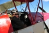 Here I am about to take off in the Tiger Moth and fly over Wanaka